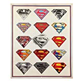 Superman Sketch Tin Sign 18 x 22in