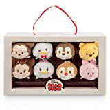 Disney Mickey Mouse and Friends Valentine Candy Box ''Tsum Tsum'' Plush Set - Mini - 3 1/2''
