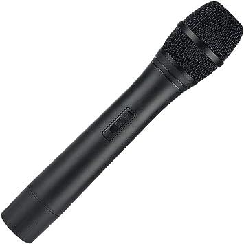 Gold Microphone Fancy Dress Prop Accessory 80s Singing Dance Pop Idol X Factor