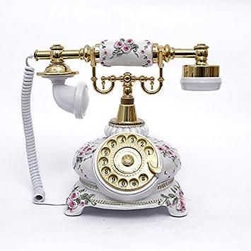 YULIN Pierre teléfonos antiguos pastoral para girar / moda ...