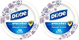 Dixie Plates, Meadow Breeze - 6.875 in - 48 ct - 2 pk by Dixie