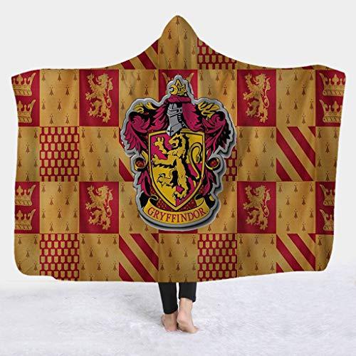 UNBRUVO 3D Hooded Blanket Cloak Cap Blanket Air Conditioning Blanket