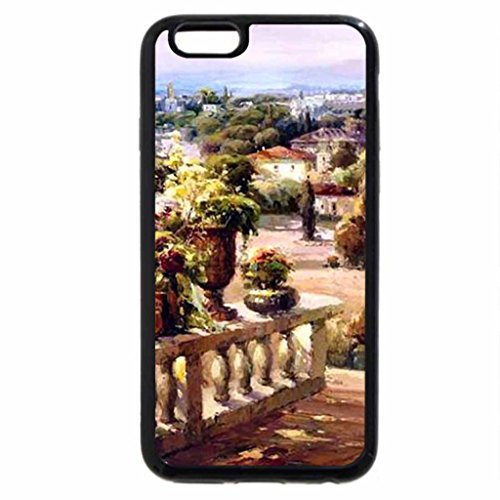 iPhone 6S / iPhone 6 Case (Black) Patio Garden F1