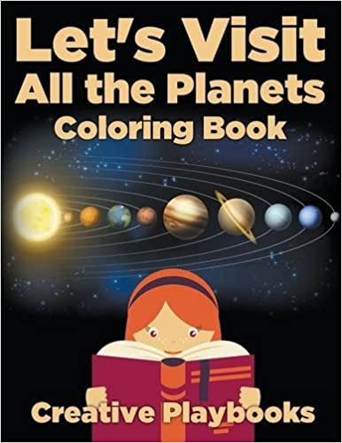 Book Let's Visit All the Planets Coloring Book