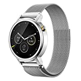 A-store Milanese Magnetic Loop Stainless Steel Band For Motorola Moto 360 Smartwatch (sliver)