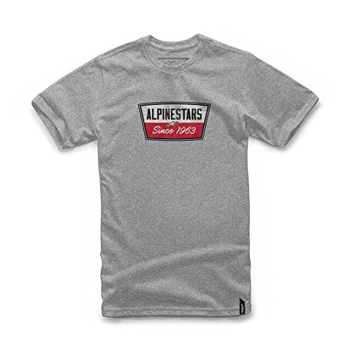 Alpinestars Mens Modern Fit Short Sleeves 146 GSM Motorsports Heritage T-Shirt