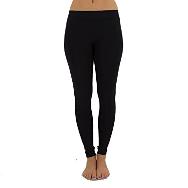 b27f24c082c0d TD Collections Women's Seamless Full Length Footless Tights Basic Solid  Leggings - Black - One Size