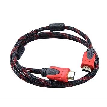 Bangcool Cable HDMI De 4,92 Pies Alta Velocidad TV Ordenador HDMI Cable De conexión