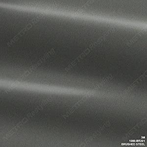 Amazon.com: 3M 1080 BR201 BRUSHED STEEL 3in x 5in (SAMPLE SIZE ...
