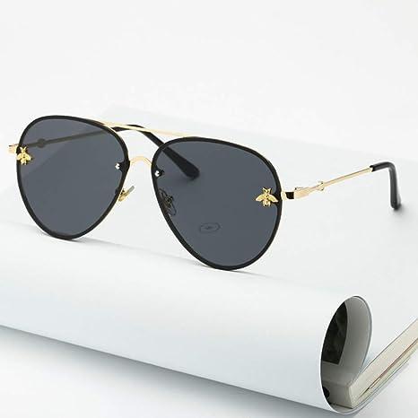 Yangjing-hl Gafas de Sol de piloto de diseñador de Marca ...