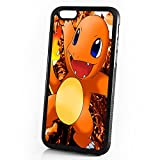 pokemon protective phone case - (For iPhone 5 5S SE) Durable Protective Soft Back Case Phone Cover - A11386 Pokemon Charmander