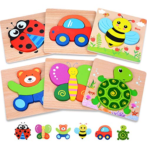 Magifire Wooden Toddler Puzzles