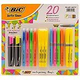 BIC Brite Liner 20 Highlighter Set