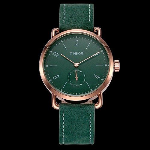 a083e9e090 Rockyu ブランド 腕時計 レディース メンズ オシャレ 防水 サファイアガラス 海外ブランド グリーン メンズ時計 (グリーン