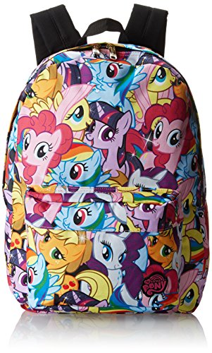 Loungefly My Little Pony Multi Character Backpack,Multi,One Size