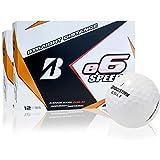 Bridgestone e6 Speed White Golf Balls, 2 Dozen