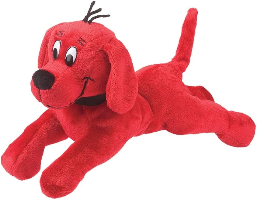 Douglas Clifford The Big Red Dog Small Lying Plush Stuffed Animal