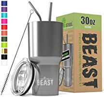New Beast Tumbler Stainless Steel Vacuum Insulated Rambler Coffee Cup Double Wall Travel Flask