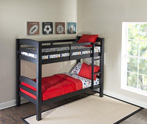 Powell Furniture D1027Y16B Levi Bunk Bed Black