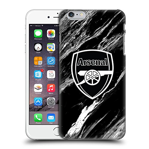 Official Arsenal FC Marble 2017/18 Crest Patterns Hard Back Case Compatible for iPhone 6 Plus/iPhone 6s Plus