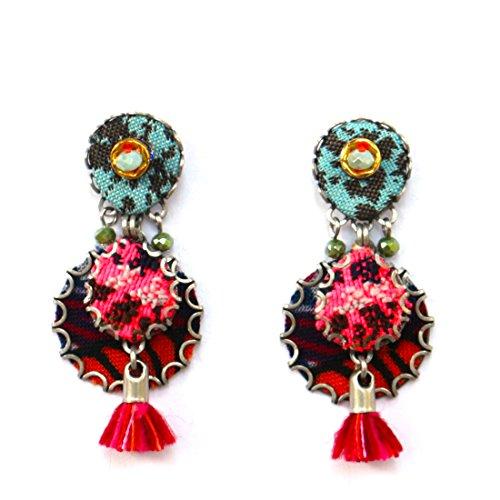 Ayala Bar Hip Collection Earring Crimson Queen ay03-7423