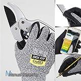 DEX FIT Level 5 Cut Resistant Gloves Cru553, 3D