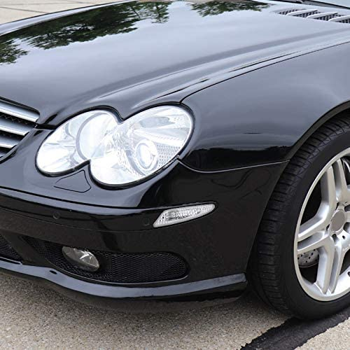 Spec-D Tuning for Mercedes Benz W211 E-Class Bumper Lights Side Markers Chrome