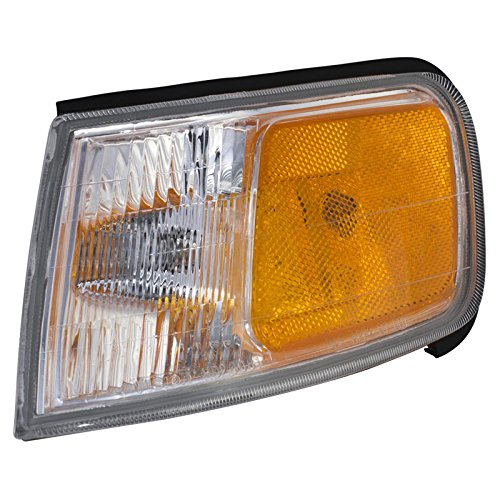 CarPartsDepot 94-97 Honda Accord Driver Front Side Marker Lamp HO2550109 Corner Signal Light -