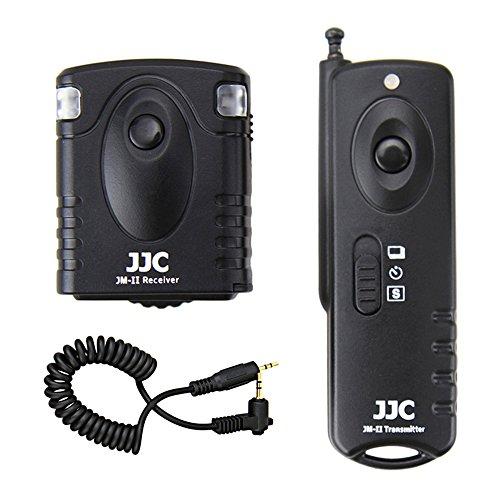 Wireless Shutter Remote Control JJC Remote Shutter Release Controller for Canon T7 T6 T5 T3 T2 XS T7i T6s T6i T5i T4i T3i T2i XSi SL2 SL1 80D 77D 70D 60Da 60D Replaces Canon RS-60E3 Pentax CS-205 by JJC