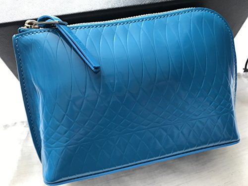 Ladies Blue 9 Leather Make Fasten Smith Zip Up Bag Paul No Red PPwTrqg