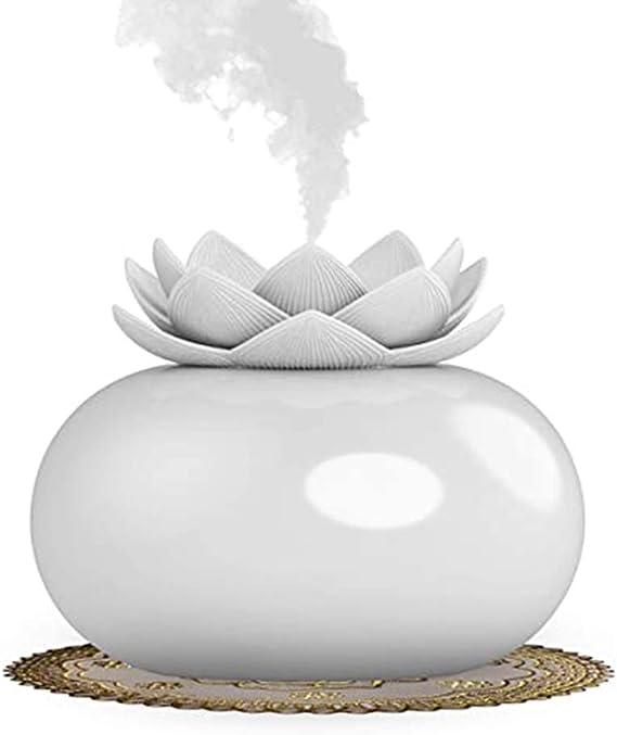 装飾的なエッセンシャルオイルディフューザーかわいいルーズミニセラミック家庭用加湿器アロマディフューザー200ミリリットル12時間空気清浄機オフィス寝室ヨガスパ赤ちゃんに適して