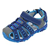 Clearance  for 3-12 Years Old, Kid Shoes//Fashion Toddler Kids Shoes Baby Boy Girl Closed Toe Summer Beach Sandals Shoes Sneakers (A-Blue, Age:2-2.5T)