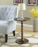 Convenience Concepts Palm Beach Accent End Table, Espresso