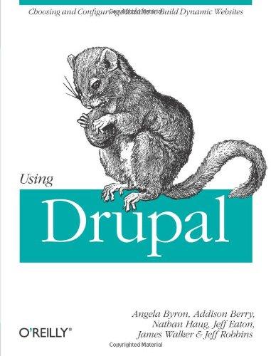 Books : Using Drupal