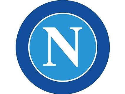 Tappeto Cameretta Calcio Napoli Rotondo Diametro 57 Gl634 Amazon It