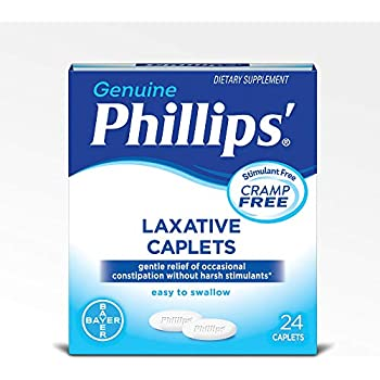 Phillips Laxative Caplets (24-Count Box)