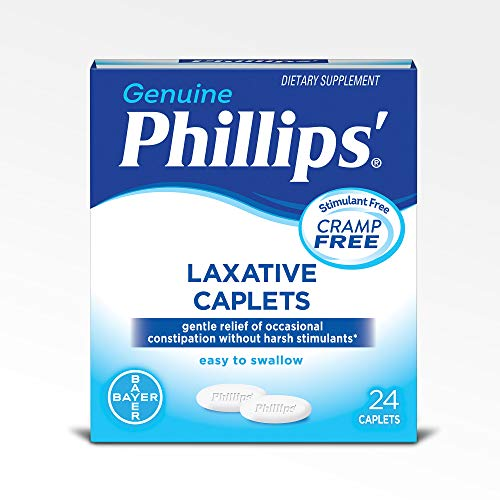 Phillips' Laxative Caplets (24-Count Box)