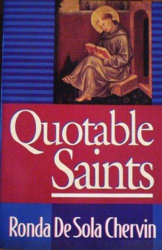 Download Quotable Saints pdf