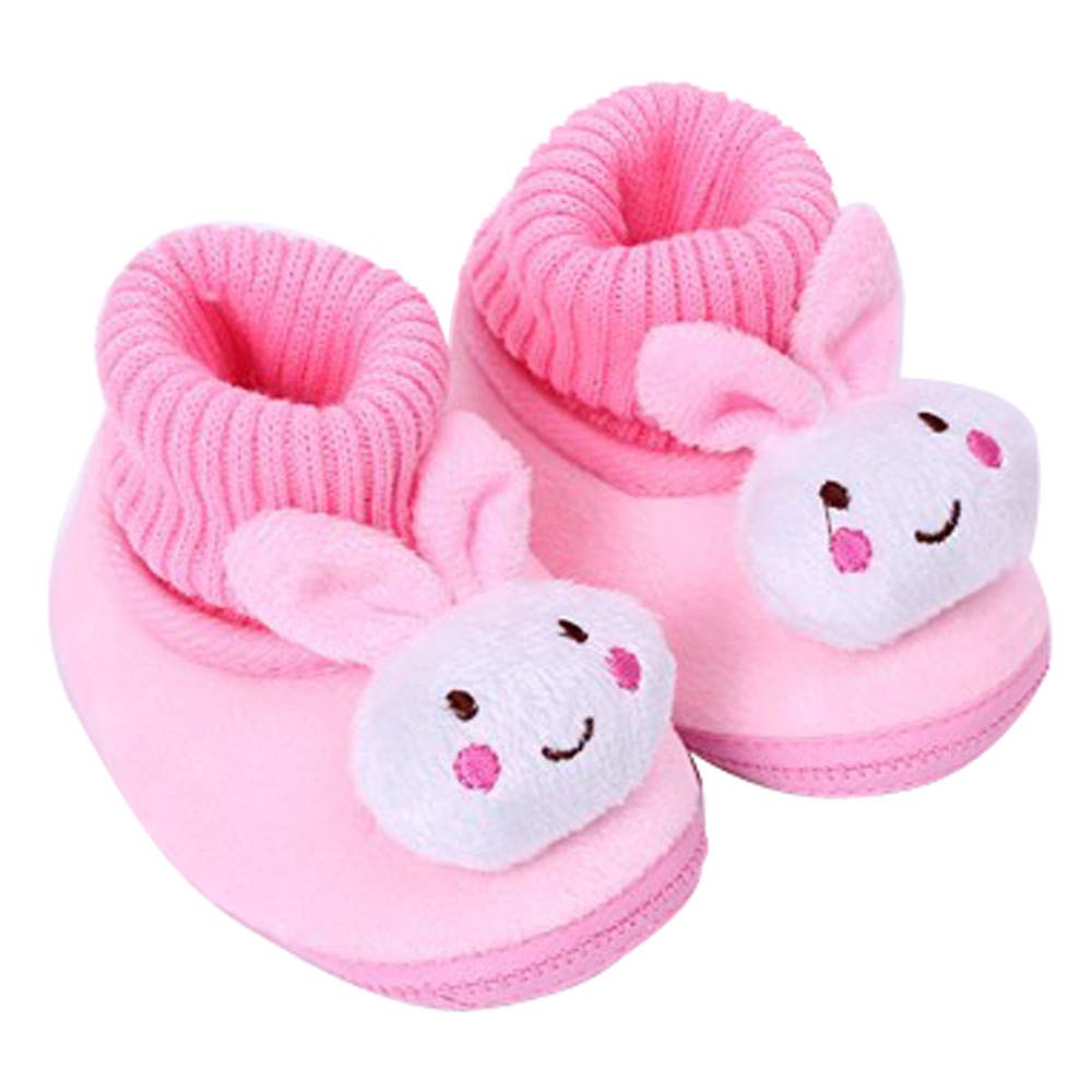 Adagod Infant Baby Shoes Walking Toddler Girls Boys Crib Shoes Winter Soft Boots