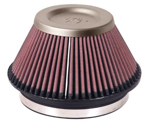 K&N RT-4600 Universal Air Filter - Titanium Top
