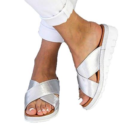 Sandalia Plataforma OrtopédicosPies Plana Correctos Zapatos Suela QxWEoerCdB