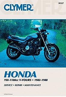 Honda v4565 sabre magna vf700m 750 1100 v fours 1982 to 1988 clymer honda 700 1100cc v fours 1982 1988 service repair fandeluxe Images
