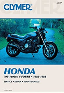 Honda v4565 sabre magna vf700m 750 1100 v fours 1982 to 1988 clymer honda 700 1100cc v fours 1982 1988 service repair fandeluxe Image collections