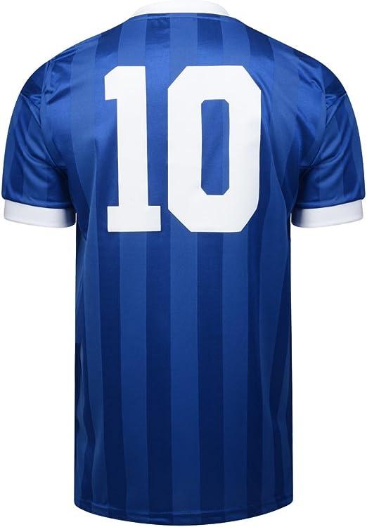 Oficial Retro Argentina Mundial de Fútbol de 1986 Final de Distancia No10 Camiseta 100% poliéster, X-Large: Amazon.es: Deportes y aire libre