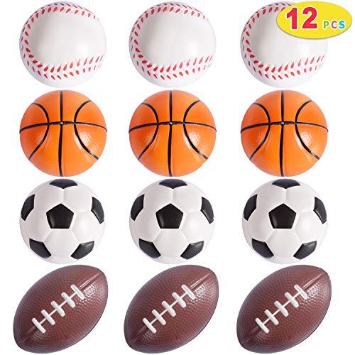 Max Fun 12 Pack Mini Foam Stress Balls