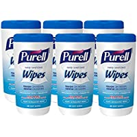 6 Pack of 40-Count Purell 9120-06-CMR Hand Sanitizing Wipes