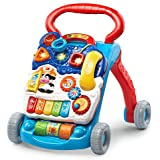 VTech Sit-To-Stand Learning Walker (Frustration Free Packaging), Blue