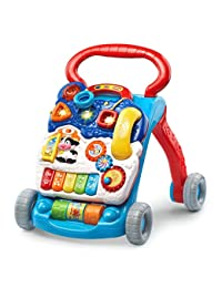 VTech Sit-to-Stand Learning Walker - Blue - Online Exclusive BOBEBE Online Baby Store From New York to Miami and Los Angeles