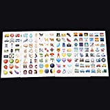 oregon building code book - Superior 19 Pack 912 Die Cut Large Stick Actual Vinyl Emoji Stickers