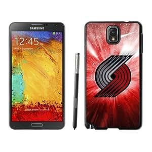 New Custom Design Cover Case For Samsung Galaxy Note 3 N900A N900V N900P N900T portland trail blazers 4 Black Phone Case